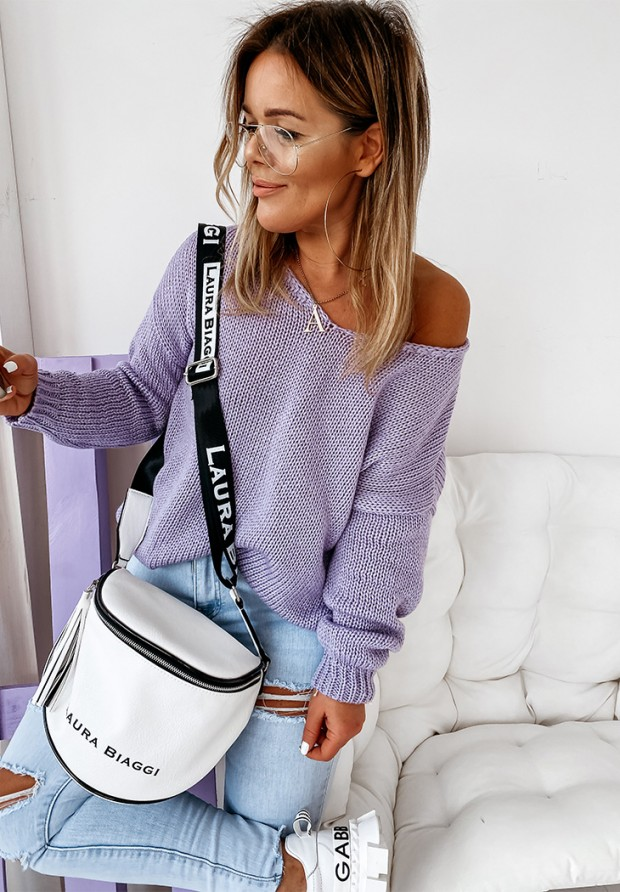 Sweter Feel Lilac