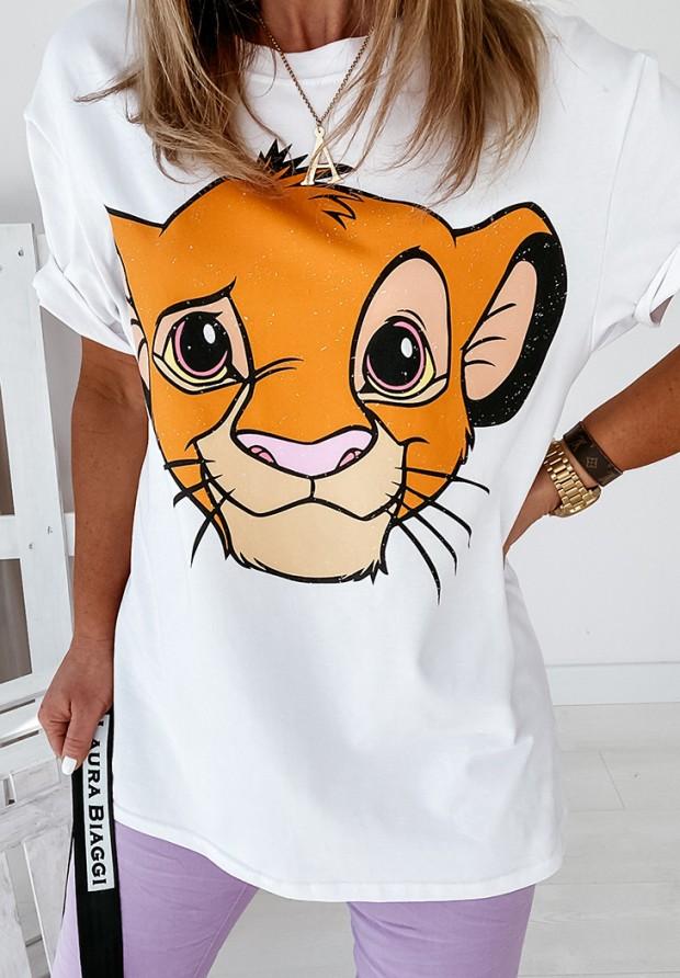 Bluzka Simba White