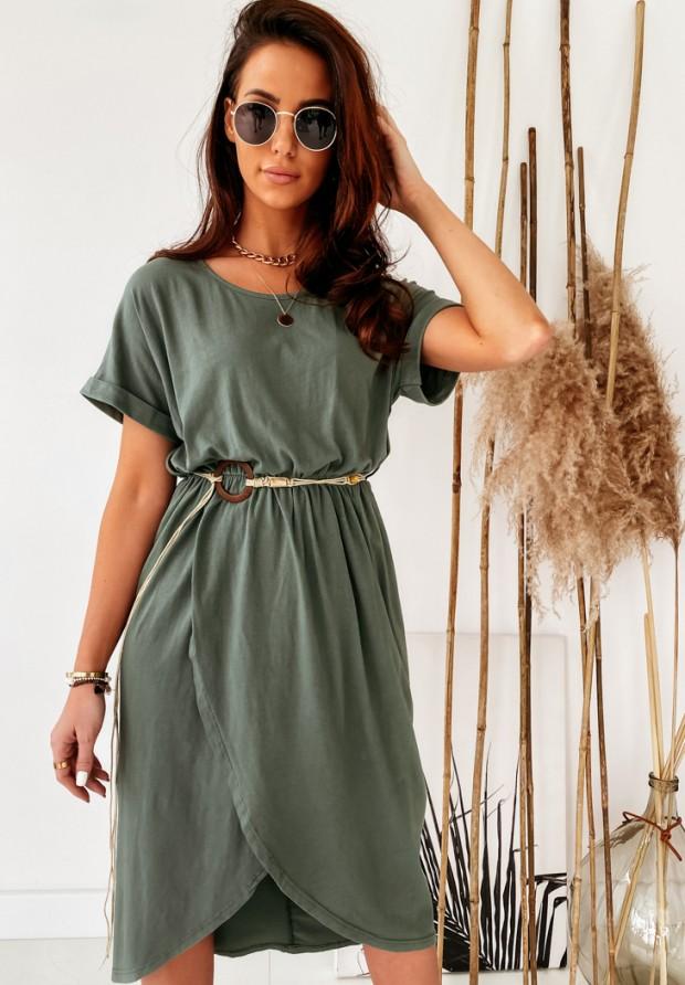 Sukienka Praya Khaki