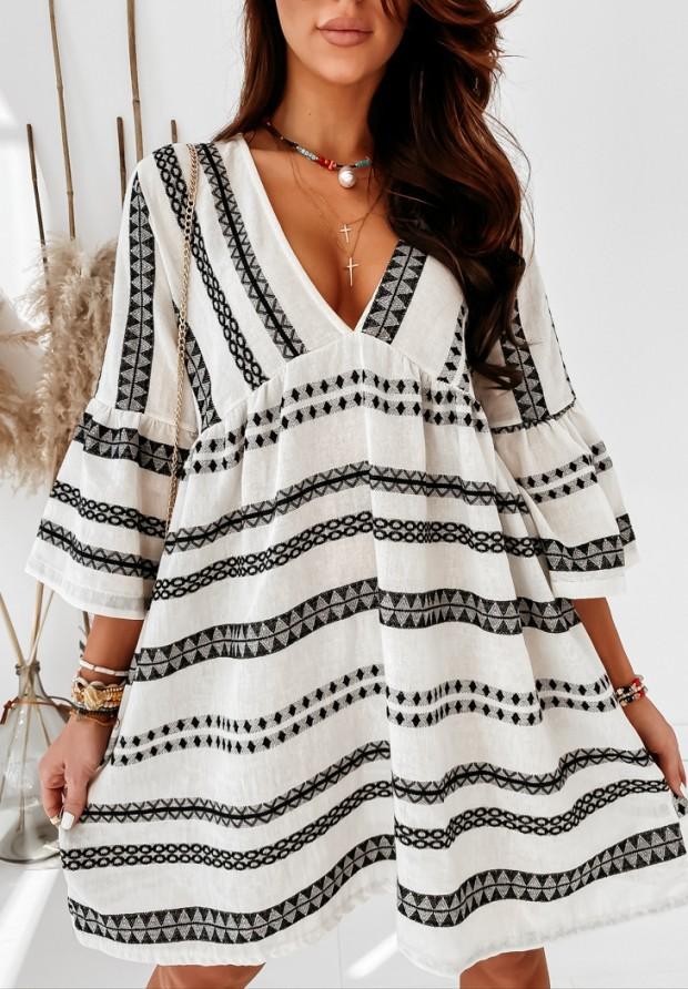 Sukienka Favarra Aztec